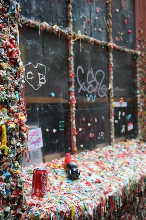 Gum Wall Pike Place Market HeyGirlfriend.Net