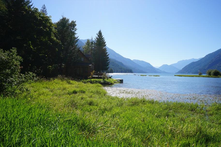 Head of lake Chelan, Washington