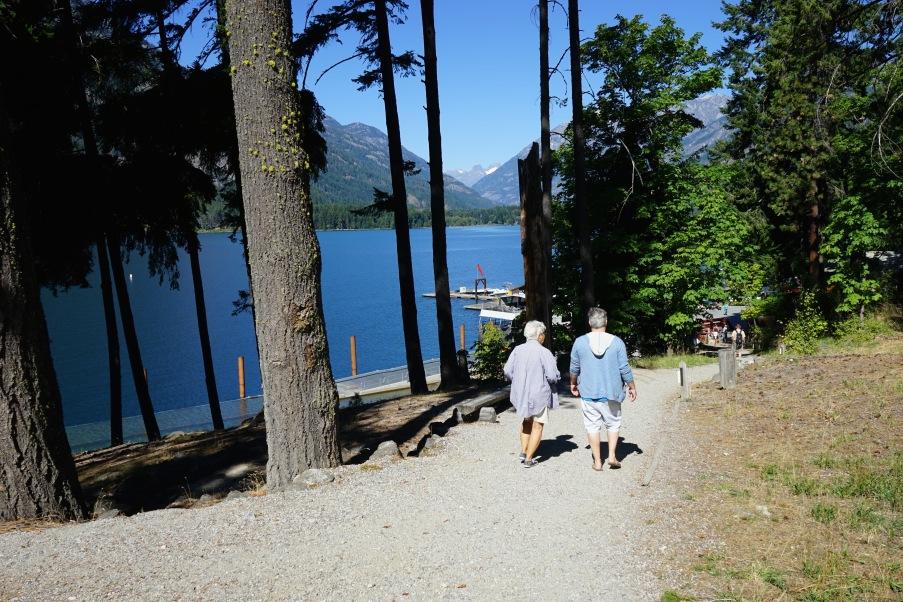 Stehekin over looking Lake Chelan