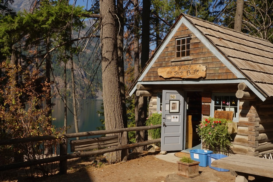The House that Jack Built Gift Shop Stehekin, Washington