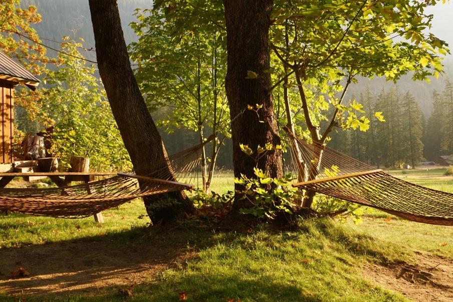 hammocks in Stehekin