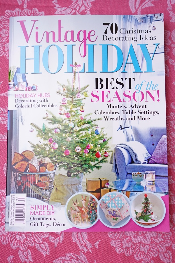 Vintage Holiday Cover 2015