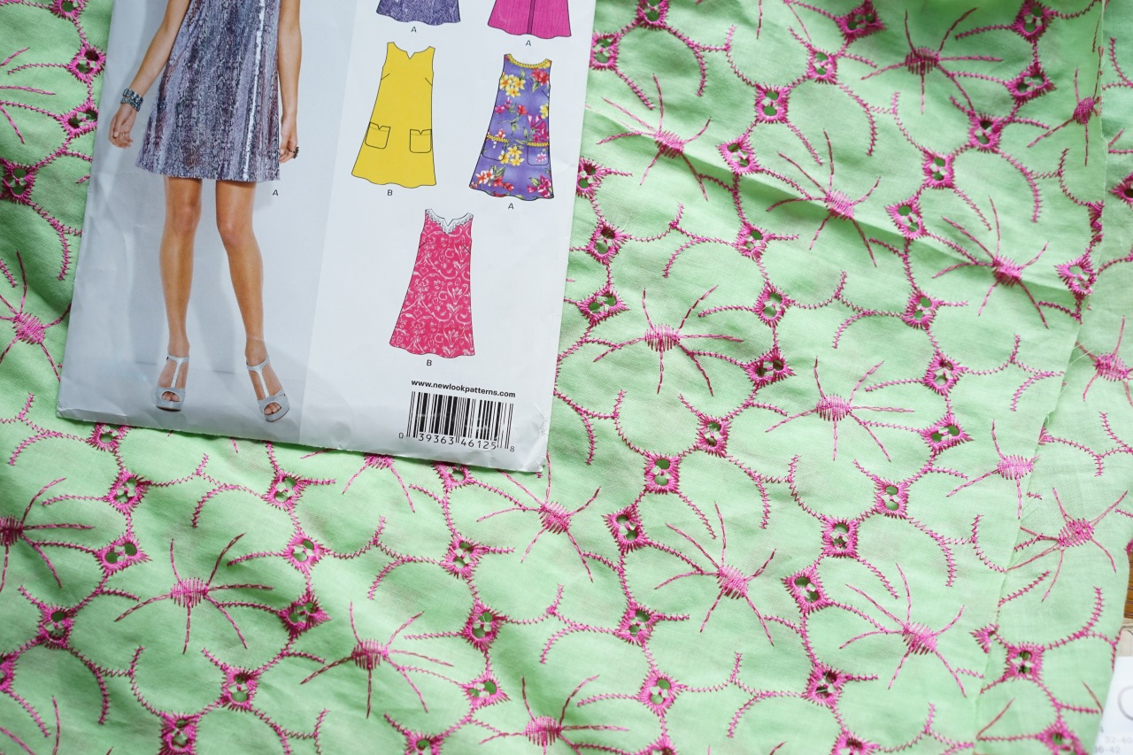 Fabric-and-dress-pattern