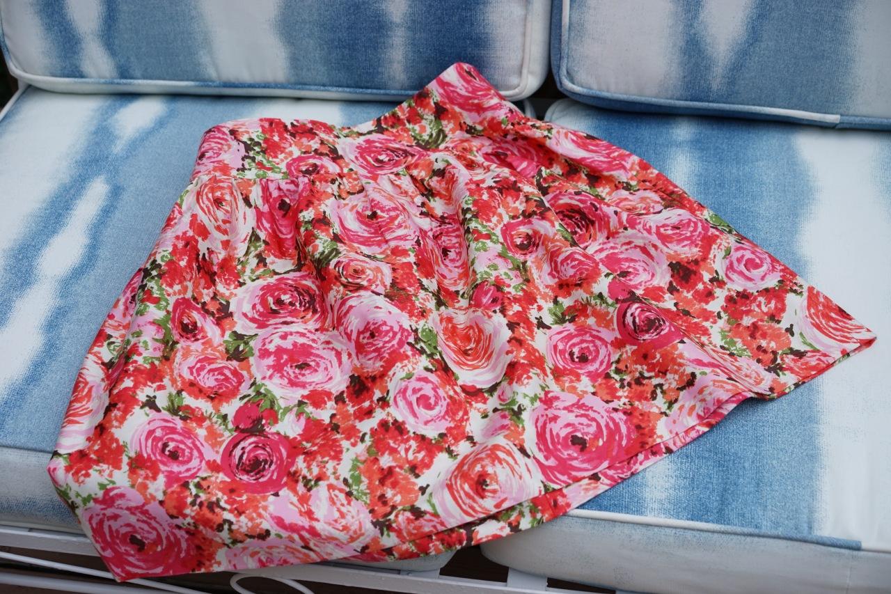 Home-sewn-skirt