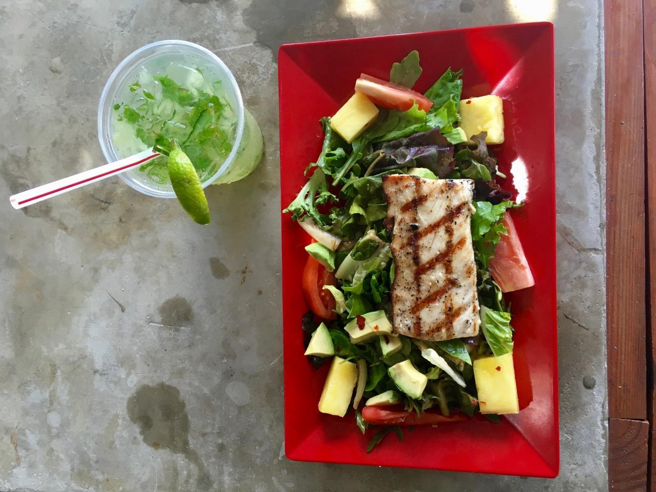 Mahi-mahi-salad