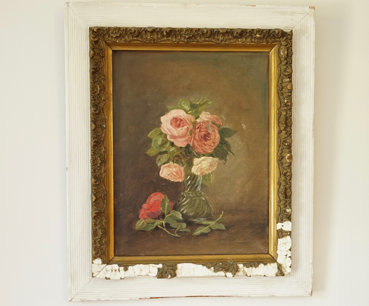 French-flower-painting